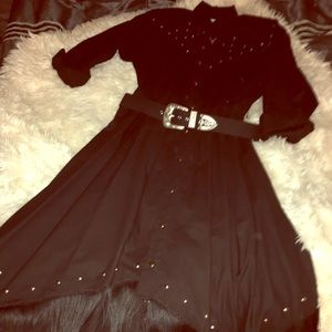 Dresses & Skirts - Western Fringe Glam Dress